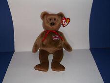 TY Beanie Baby *BRITANNIA* Bear - 1997 - Rare Retired
