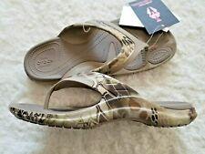 Crocs M 9 W 11 MODI Sport Kryptek Camo Highlander Flip Flops Sandals Pool Shoe
