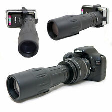 10x 42 1000mm Telescope for Canon EOS Rebel SL1 100D EF-s 18-55mm Lens