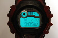 CASIO DW-004 X-treme clear Red G-Shock resistant Watch Japan AutoBacklight Japan