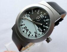 Mercedes Benz 24 Hour Military Dial Classic Car Accessory Sport Design Watch