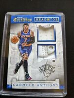 2015-16 Panini Excalibur Head to Toe Carmelo Anthony #11 17/25 Relic Jersey/Shoe