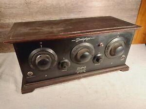 Antique 1925 Standardyne Model B 5 Tube Radio Untested