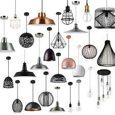 [lux.pro]® Hängeleuchte Metall Industrie Deckenleuchte Leuchte Pendelleuchte