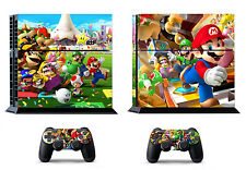 Mario 388 Skin Sticker Cover for Sony PS4 PlayStation 4 and 2 controller skins