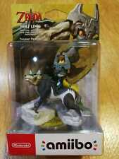 Nintendo amiibo Link Lobo Wolf Link The Legend of Zelda Twilight Princess