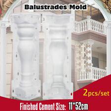 52cm Roman Column Railing Concrete Plaster Fence Casting Mould Balustrades