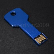 Key Design 64GB 64G USB 2.0 Flash Memory Drive Storage Thumb Pen Stick Dark Blue