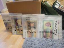 "New Ehrman~Four- 4 Seasons Needlepoint Kits~5.5"" x 10"" 10 Ct Hollingworth"