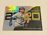 2020 Topps Chrome Update Baseball Decade's Next - Brendan Rodgers - Rockies
