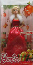 Barbie Holiday Wishes Christmas New 2014 Fashion Blonde Doll Mattel CCP45