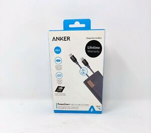 Anker Powerline+ USB-C to USB-C 2.0 6ft A8188ZA2