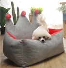 Self-Warming Cats Dogs Crown Sofa Bed Nesting Free shipping S,M,L D35