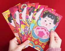 10 Chinese New Year of the Ox 2021 Red Envelopes / Money Envelopes
