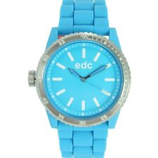 EDC by Esprit Uhr Armbanduhr Damen Rubber Star - Cool Turquoise EE100922007