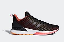adidas Questar TND Mens UK 7 EU 40 2/3 Black & Orange New Running Shoes Trainers