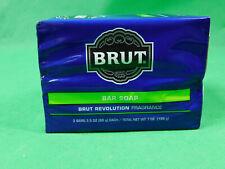 Brut Bar Soap Revolution Fragrance Men's   3.5 oz each 2 Pack