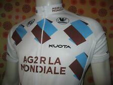 Ancien MAILLOT VERMARC AG2R LA MONDIALE TM Pro Cycling Team Prévoyance Shirt UCI