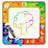 Doodle Water Drawing Painting Writing Mat Education Painting Board W/ Magic Pen