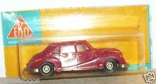 OLD 1960 MICRO EKO HO 1/87 BMW 501 ROUGE BORDEAUX IN BLISTER BOX