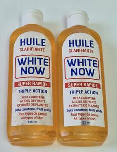 2X White Now Oil/Serum Triple Action With Carotene& Fruits Acids (125ml X 2pcs)
