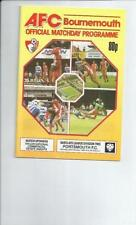 Portsmouth Away Team Second Division Football Programmes