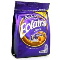 Cadbury Chocolate Eclairs 166g Bag - British/UK