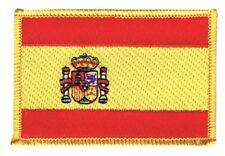 Spanien Aufnäher Flaggen Fahnen Patch Aufbügler 8x6cm
