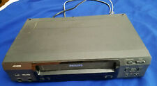 Philips VCR VHS Recorder Audio Video Hi-Fi Stereo VRB411AT21 VINTAGE DOESN'TWORK