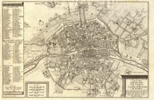 'Le Plan de la Ville, Cite, et Universite de Paris…'. City plan. DE FER 1705 map
