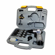 New  Air Tool Chisel Hammer Set And Accessory Kit  tradesman FREE DELIVERY