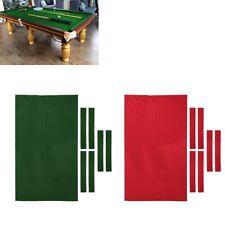 9ft Pool Table Cloth High Performance Felt Pre-Cut Cushion Cover Accessories