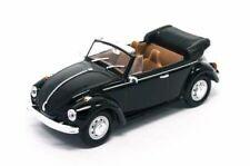 Volkswagen VW Beetle Cabrio 1972 Black 1:43 Model LUCKY DIE CAST