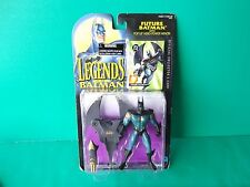 "Legends of Batman-Future Batman 5""in Action Figure w/ Pop-up Aero-Power Wings!!"