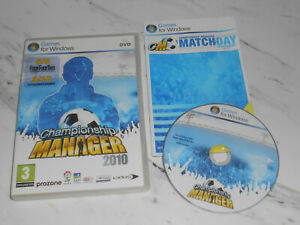 CHAMPIONSHIP MANAGER 2010 Pc DVD Rom CM CM2010 FAST POST
