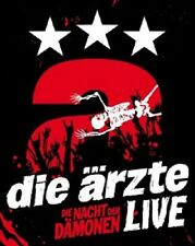 DIE ÄRZTE - LIVE-DIE NACHT DER DÄMONEN  (DIGIPACK)  BLU-RAY  ROCK & POP  NEU