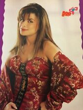 Paula Abdul, Christian Slater, Double Full Page Vintage Pinup