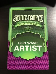 Sonic Temple Festival System Of A Down Laminate