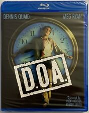 NEW D.O.A. SPECIAL EDITION BLU RAY KINO LORBER FREE WORLD WIDE SHIPPING THRILLER