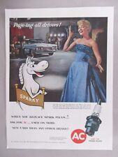 Patti Page for AC Auto Care Oil Filter PRINT AD - 1958
