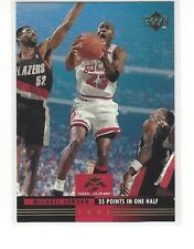 1993-94 UPPER DECK BASKETBALL MR. JUNE MICHAEL JORDAN #MJ4 35 POINTS IN ONE HALF