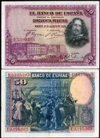 GRAN CAPITAN VERY SCARCE. SPAIN LOT 5x 100 PTAS 1931 VF