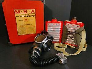 Vintage MSA All Service Gas Mask Kit
