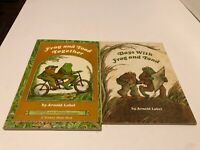 Frog And Toad 2 Book Lot by Arnold Lobel