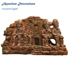 Ancient Egypt Ruins Ornament Temple Aquarium Decorations For Fish Tank Terrarium