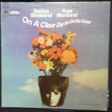 BARBRA STREISAND ON A CLEAR DAY YOU CAN SEE FOREVER VINYL LP CANADIAN PRESSING