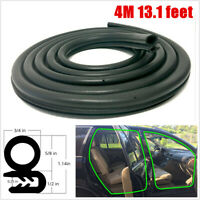 13.1 feet Rubber Car Door Seal Weatherstrip Body Mounted Front Left or Right