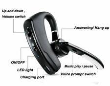 Handsfree Call Bluetooth Headset Earpiece for Samsung S10 S9 S8 LG G7 G6 Moto G6
