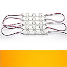 20x - gelb - LED Module - DC 12V 3x 5730 SMD Werbetechnik Injektion High-Power
