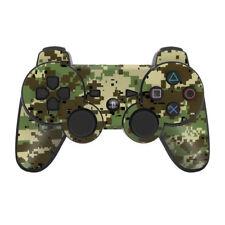 Sony PS3 Controller Skin - Digi Woodland Camo - DecalGirl Decal
